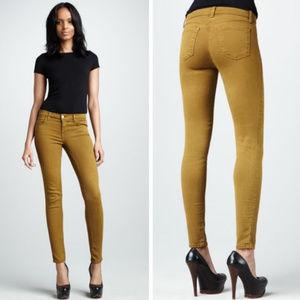 J Brand Moss Mid Rise Skinny Jean 26